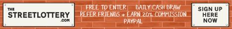 Street Lottery Banner